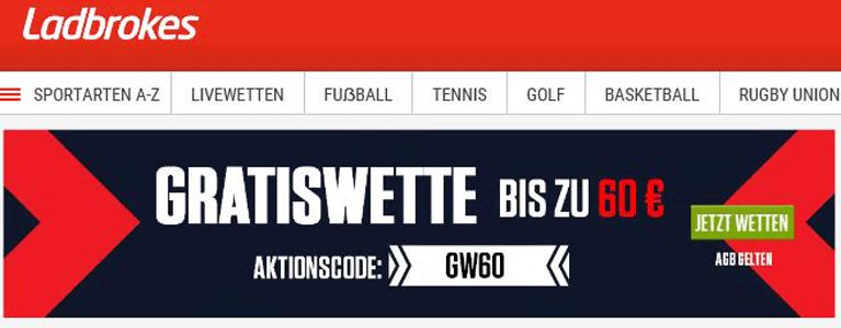 Sportwetten von Ladbrokes auf Deutsch bieten extrem viele Wettoptionen