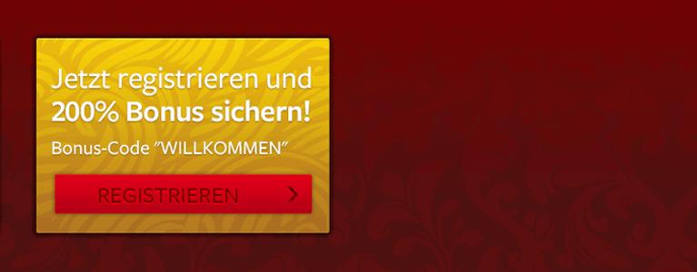 Bis zu 300 Euro erhalten neu registrierte Spieler im Online Merkur Spielcasino als Willkommensgeschenk