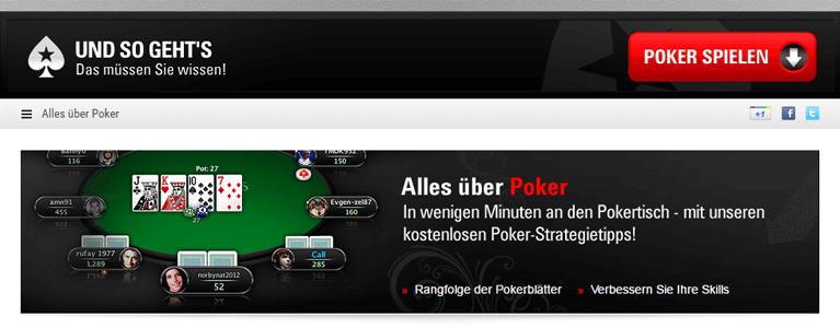 Poker Spielregeln beherrschen, um erfolgreich zu sein