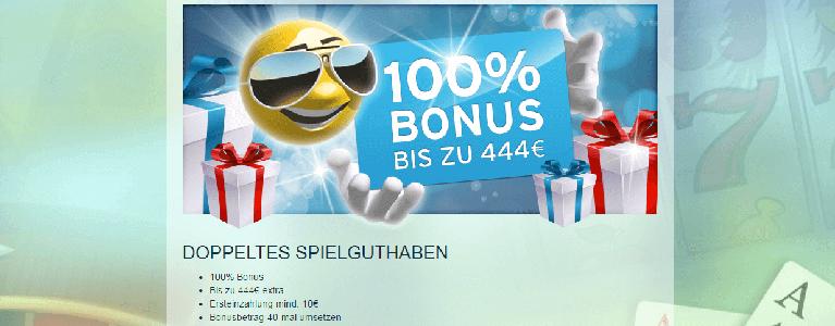 Neue Kunden wählen ihren Bonus direkt bei der ersten Einzahlung aus