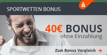 Sportwettenanbieter Bonus ohne Einzahlung