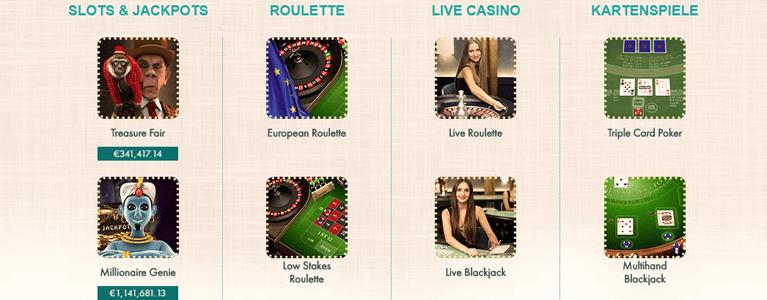 777 Casino Bonus ohne Einzahlung Spiele