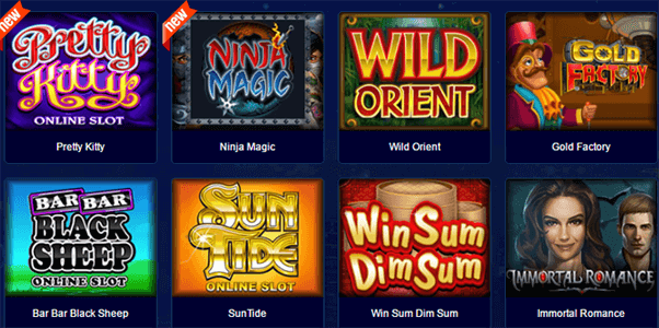 All Slots Casino Spielangebot