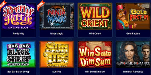 All Slots Casino Spielangebot