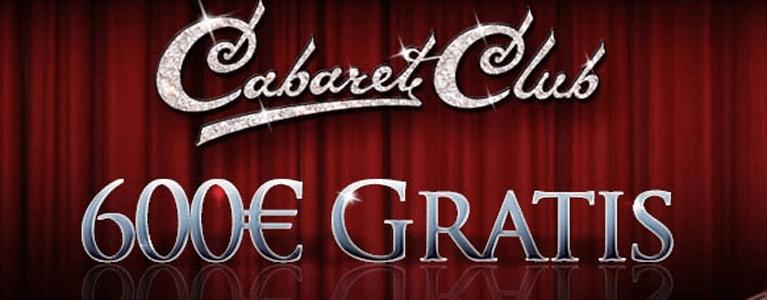 Cabaret Club Casino Willkommensbonus für Neukunden