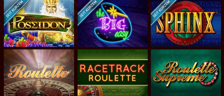 Casino Club Spielangebot