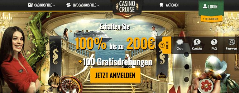 Casino Cruise Bonus ohne Einzahlung