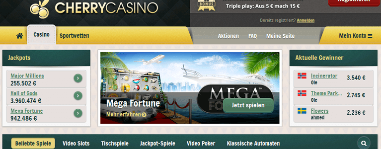 William Cherry Casino Games Spiele kostenlos