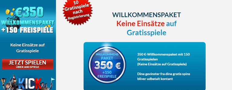 EU Casino Willkommensbonus online Neukunde