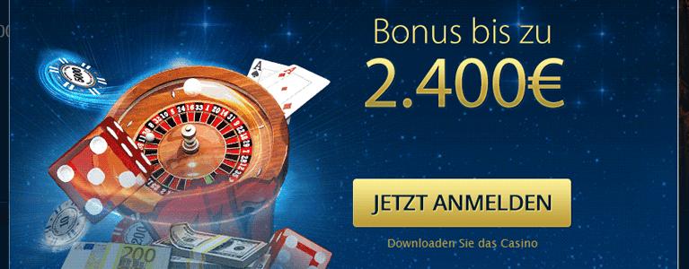 Europa Casino Bonus ohne Einzahlung