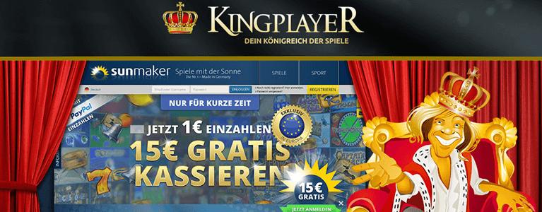 Kingplayer Bonus ohne Einzahlung