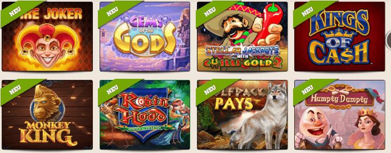 Leo Vegas Bonus ohne Einzahlung Slot Casino kostenlos Demoversion