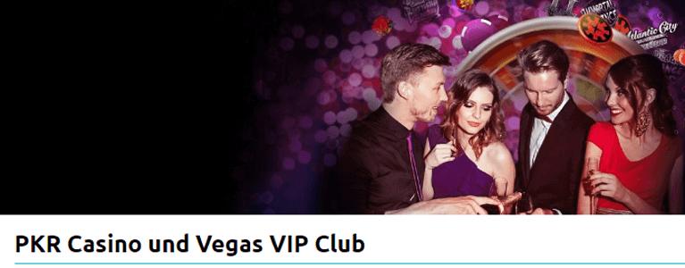 VIP-Club bei PKR