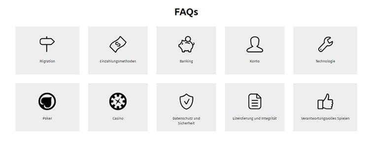 FAQs bei PKR