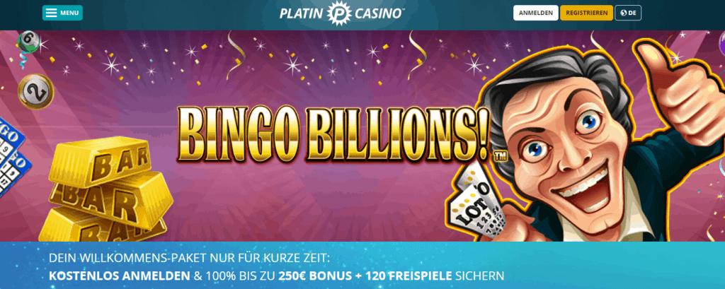 Platin Bingo