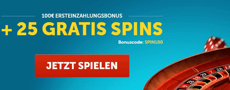 Playmillion Casino Bonus für Neukunden