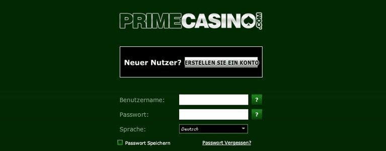 Prime Casino Registrierung Bonus