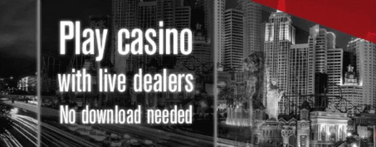 Live-Casino Angebot mit Live-Dealern
