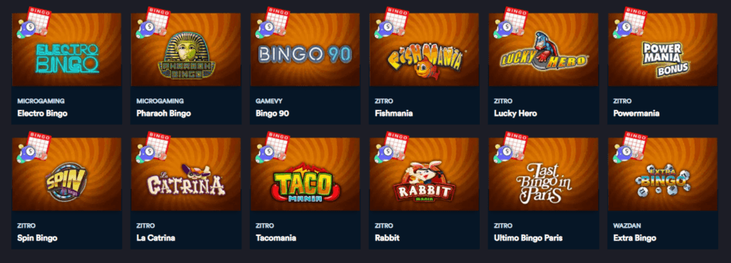 SlotsMillion Bingo