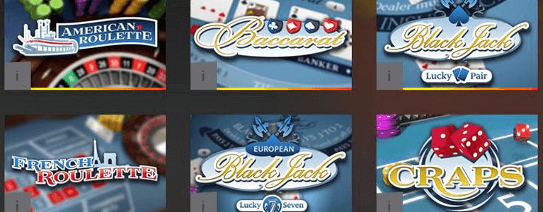 Stake 7 bietet auch Casino-Klassiker an