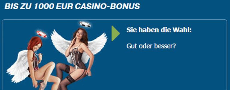 bet-at-home Casino Bonus für Neukunden nutzen