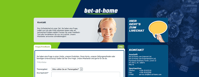 Bet-at-Home Casino DSupport