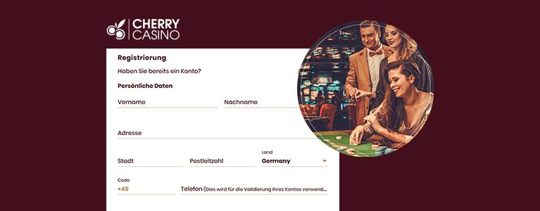 Cherry Casino Registrierung