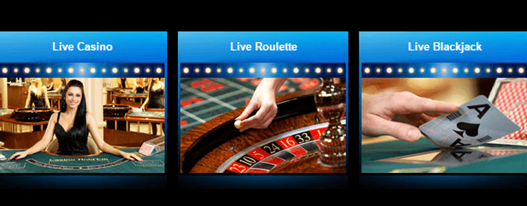 Live-Casino Angebot des Club777