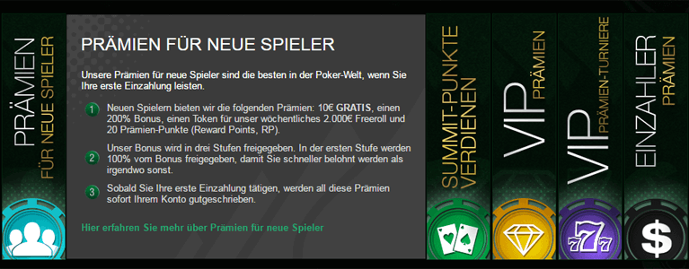 VIP-Programm bei Everest Poker