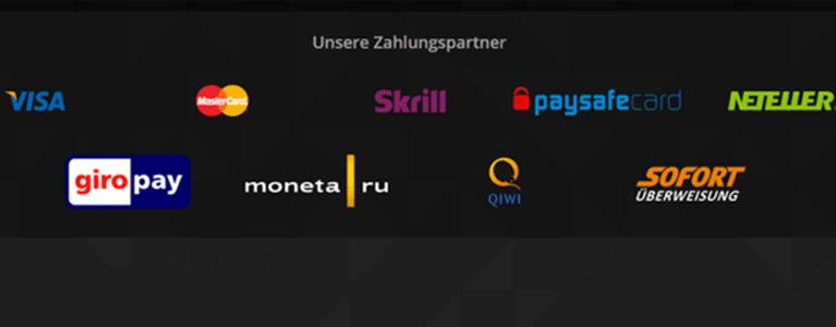 Zahlungsmethoden bei Super Gaminator