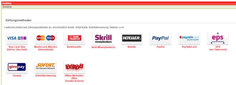 Ladbrokes PayPal
