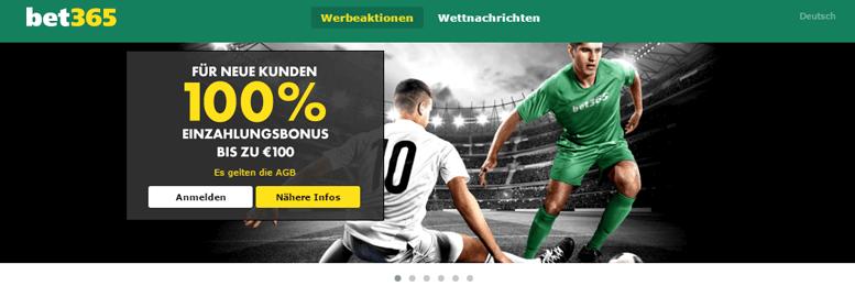 bet365 PayPal Bonus gratis 100 Euro