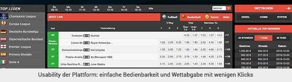 ReadyToBet Sportwetten Plattform