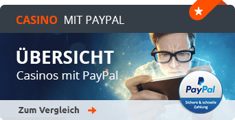 Casino Anbieter mit PayPal