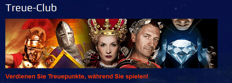 Treue-Club im All Slots Casino