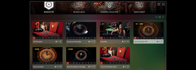 Live Casino im Prime Casino