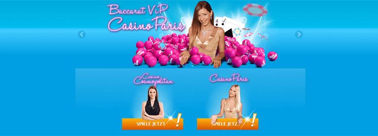 Vielseitiges Vera John Live Casino