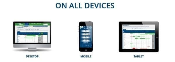 Mobiles Trading steht selbstverständlich auch bei BetOn Finance zur Verfügung.