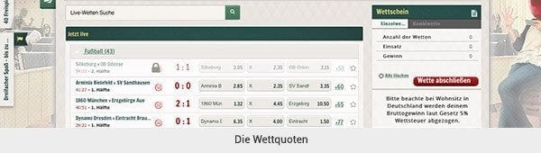 Cherry Casino Sportwetten Quoten