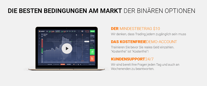 IQ Option Bedingungen