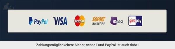 btty Zahlungsmethoden