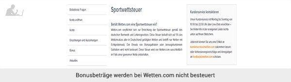 wetten.com Steuer