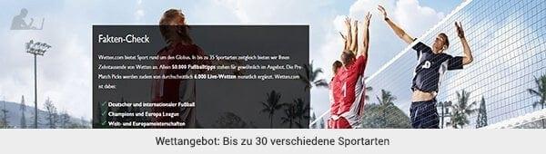 wetten.com Wetten Angebot