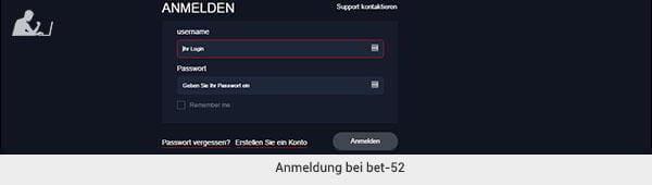 bet-52 Anmeldung