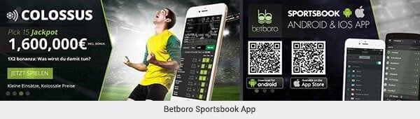 betboro Sportwetten App