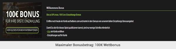 betboro Bonus Sportwetten