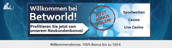 betworld Sportwetten Bonus