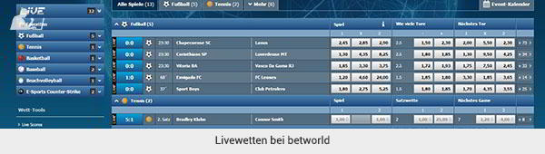 betworld Livewetten