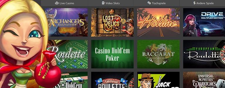 LSBet Casino Spiele