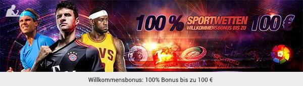 Sekabet Sportwetten Bonus